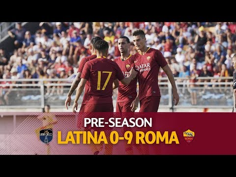 Schick hat-trick! See all the goals from Roma's 9-0 win over Latina