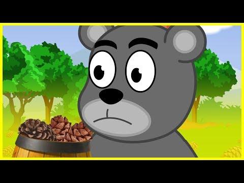 Мишка косолапый по лесу идет | Песенка мультик видео для детей