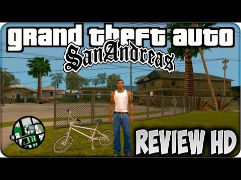 GTA SAN ANDREAS HD REVIEW - PRIMERAS IMPRESIONES - GAMEPLAY HD