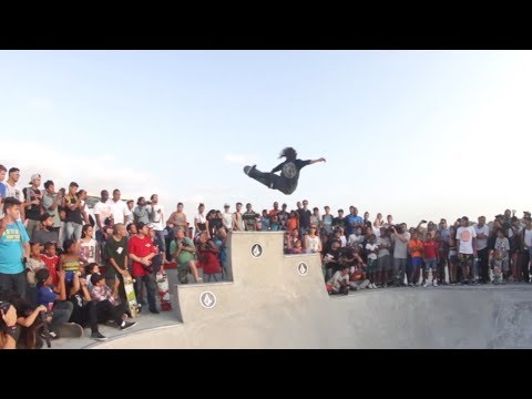 Volcom Skate Demo and True To This Premiere in Panama