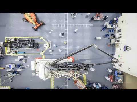 Time-lapse of James Webb Space Telescope Secondary Mirror Booms