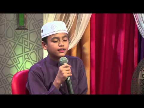 Bacaan Al Quran bersama Adik Zaid