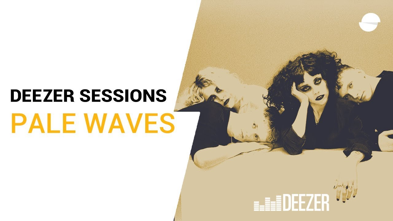 """Pale Waves (Heather Baron-Gracie) - 「Deezer Sessions」にて""""One More Time""""を披露 ギター弾き語り映像を公開 thm Music info Clip"""