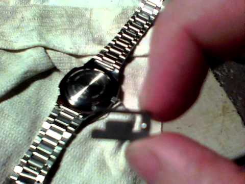 Casio 2784 Watch Band Link Removal