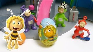 Teletubbies open Surprise Egg Maya the Bee