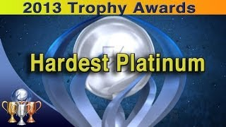 2013 Trophy Awards [Hardest Retail Platinum]