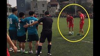 Quang Hải , Duy Mạnh U23 Việt Nam trổ tài đá bóng phủi siêu đỉnh !!!!