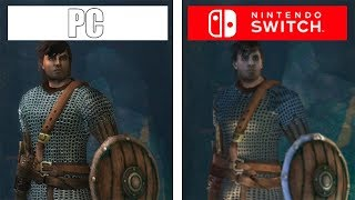 Pillars of Eternity | PC vs Switch | 1080p Comparison & Switch FPS