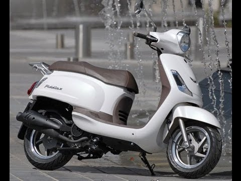 Sym Fiddle Ii 150cc Scooter Youtube