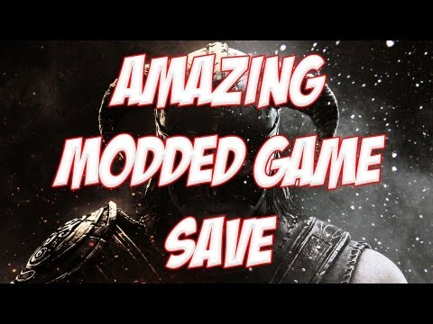 Skyrim Modded Gamesave