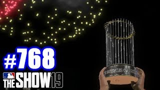 PLAYING GAME 7 FOR MY 17TH RING! | MLB The Show 19 | Road to the Show #768