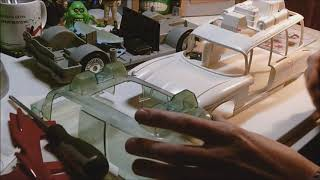The Real Ghostbusters Ecto 1A Customised