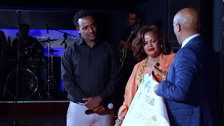Seifu Show on EBS with Meseret Humanitarian