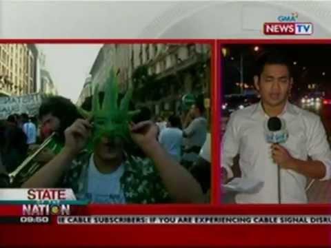 SONA: Legalization ng Marijuana, isinisigaw ng ilang users