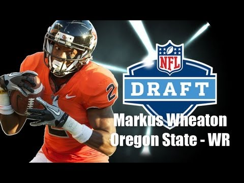 Markus Wheaton - 2013 NFL Draft Profile