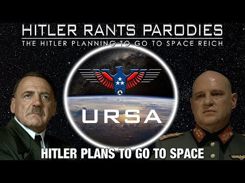 Hitler plans to go to space