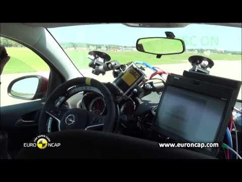 Euro NCAP | Opel/Vauxhall Adam | 2013 | ESC краш-тест