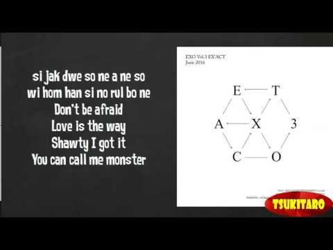 EXO - Monster Lyrics (easy lyrics)