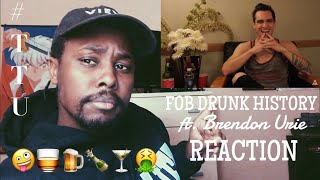 Download Lagu Fall Out Boy - Drunk History ft. Brendon Urie VIDEO REACTION Gratis STAFABAND
