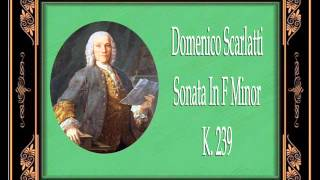 Alexandre Tharaud - Sonata in F minor, Kk.239