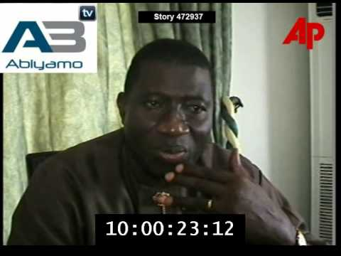 Governor Goodluck Jonathan of Bayelsa Speaks on kidnapped oil workers in 2006 new