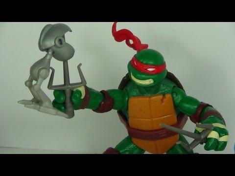 TMNT MOUSERS Nickelodeon Teenage Mutant Ninja Turtles 2012 Figure Review
