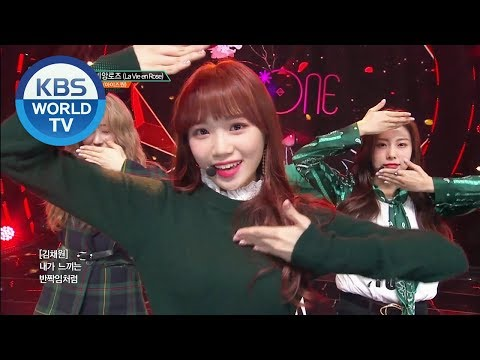 IZ*ONE - La Vie En Rose | 아이즈원 - 라비앙로즈 [Music Bank / 2018.11.09]