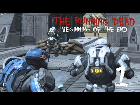 The Running Dead: Beginning of the End (Halo Reach Zombie Machinima) Part 1/3