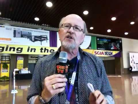 Scott Fresener third day SGIA show report