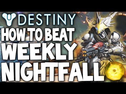 Easy Exotics Destiny: Easy Way To Beat The Weekly Nightfall Archon Priest Venus