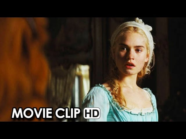 Cinderella Movie CLIP 'Cinderella' (2015) - Lily James HD