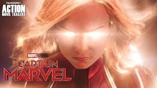 Marvel's CAPTAIN MARVEL (2019) | First trailer for Brie Larson Superheroine Movie