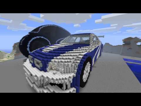 minecraft 3d art bugatti veyron 16 4 how to save money. Black Bedroom Furniture Sets. Home Design Ideas