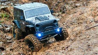 RC Mudding 4X4 - AMAZING Rock Crawler $200 RTR Budget Truck - TheRcSaylors