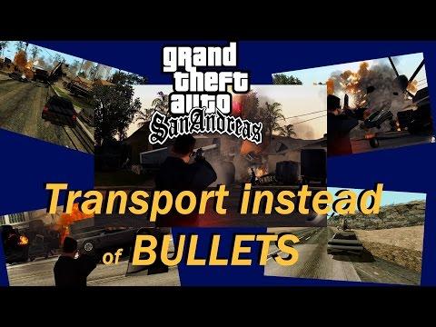 Transport V2 au lieu de balles