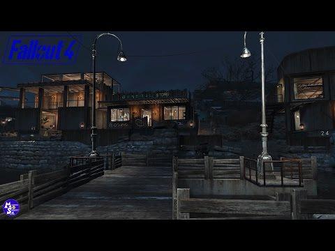 Let's Build Sanctuary(Far Harbor Settlement)|General Store Build|Fallout 4 Wasteland Workshop