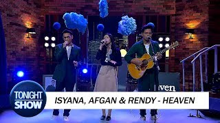 Isyana Afgan Rendy Heaven Special Performance