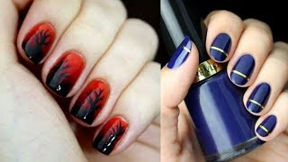 Easy Nail Art Designs For Short Nails For Beginners #6