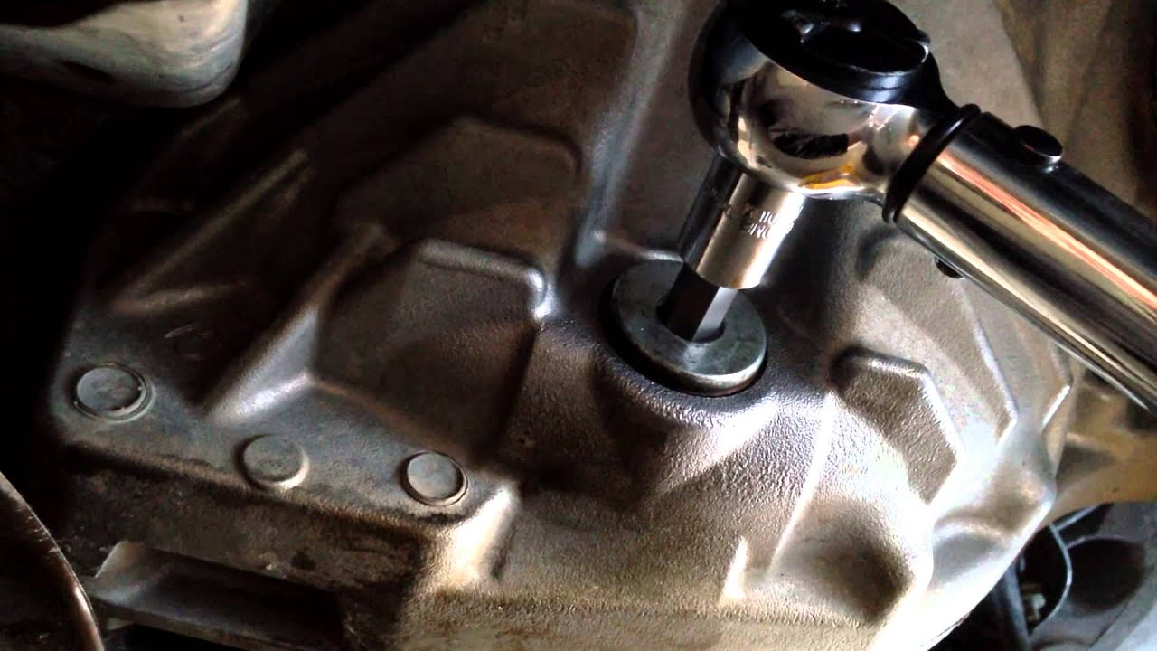 2010 Tundra Front Differential Fluid Change Youtube