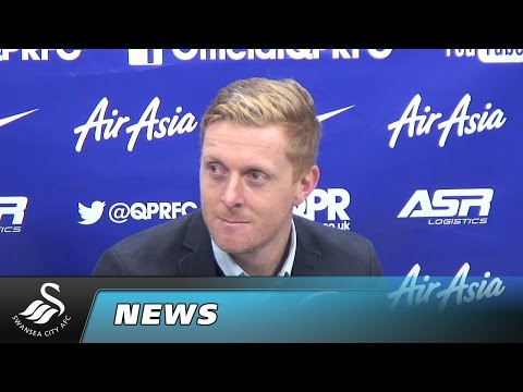 Garry Monk reaction to QPR game