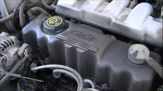 Ford Tempo cold start and drive