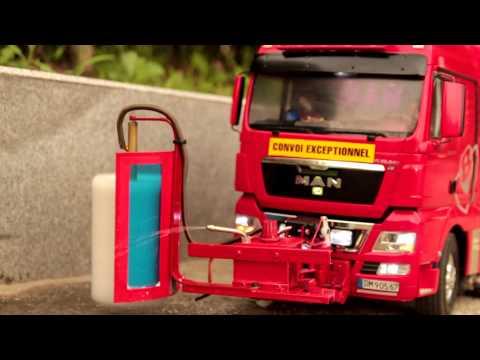 Realistic RC experience - RC 8X4 MAN trucks