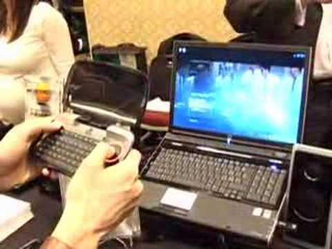 Logitech diNovo Mini | Engadget at CES 2008