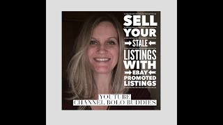 Sell your STALE listing with ebay promoted listings