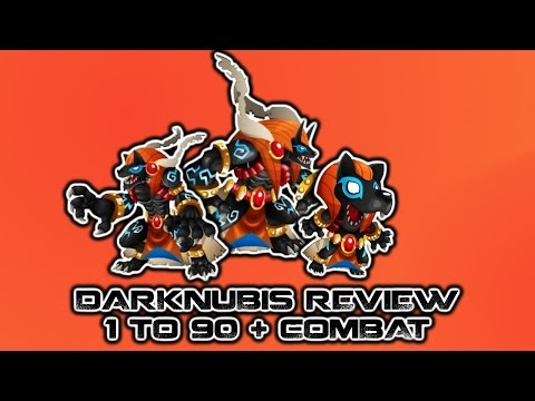 Monster Legends - Darknubis review + Combate  Requested Video