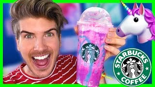 STARBUCKS UNICORN FRAPPUCCINO TASTE TEST!