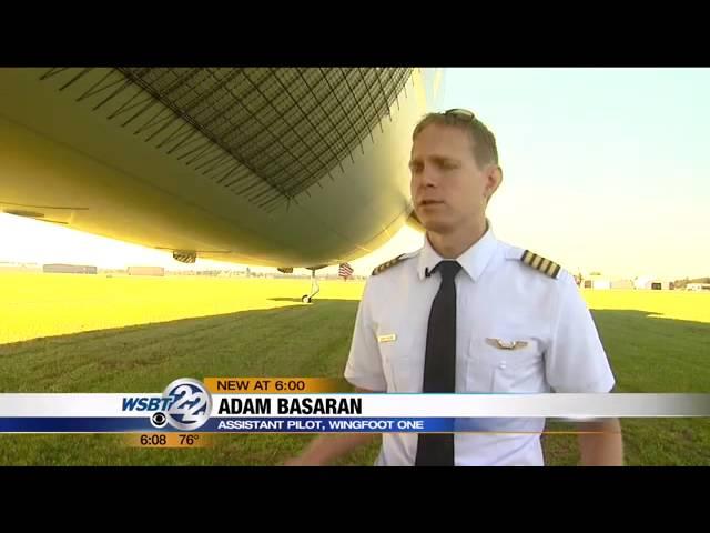 Goodyear's new airship lands in Goshen