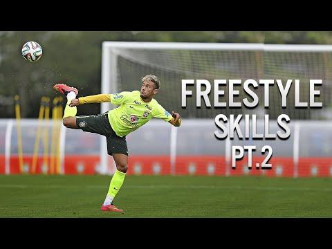 Neymar Jr ● Best Freestyle Skills - 2014 Pt.2   Hd video