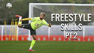 Neymar Jr ● Best Freestyle Skills - 2014 Pt.2   HD