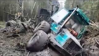 Timberjack 1210 stuck deep in mud